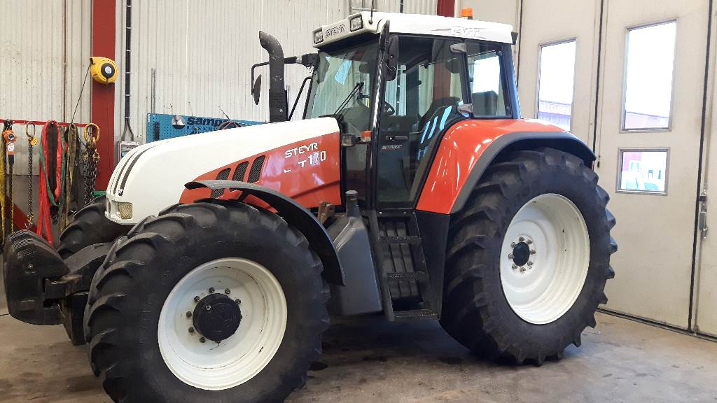 Used Steyr CVT 170 tractors Year 2001 Price $33,149 for