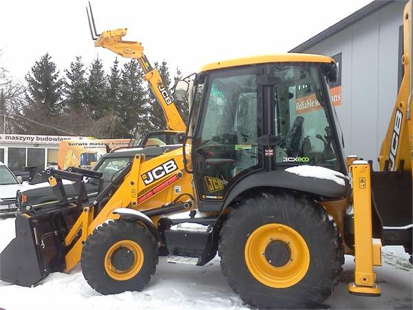 JCB 3CX SiteMaster 2015 TIER 4 NOWA NEW UNUSED