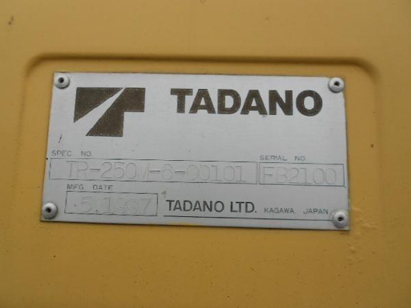 TADANO TR-250M-6