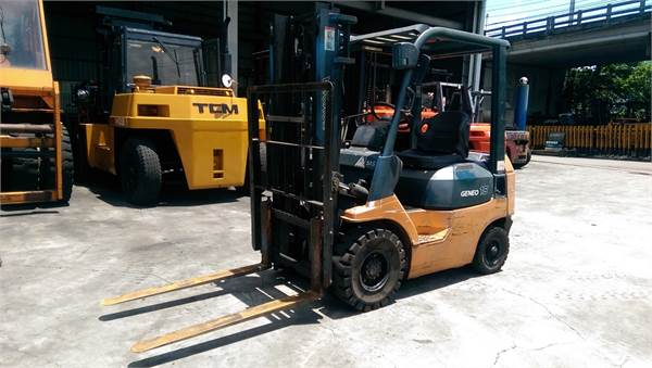 Toyota 第七代 1.5噸 汽油標準型堆高機