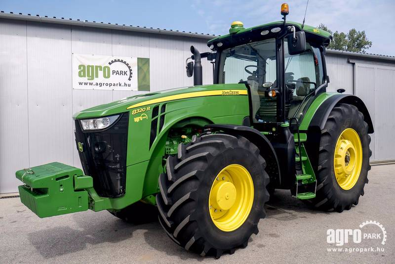 John Deere 8320R ILS with 576 hours, Active seat, Powershift