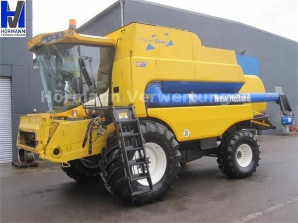 used new holland csx 7080 m hdrescher combine harvesters year 2007 price 72 969 for sale. Black Bedroom Furniture Sets. Home Design Ideas
