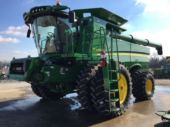 Brownsville (TN) United States  city photos gallery : John Deere S670 for sale Brownsville, TN Price: $325,000, Year: 2015 ...