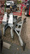 Rubberschuif gegalvaniseerd Rubberschuif standaard, Other loading and digging and accessories
