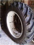 Двойное колесо Trelleborg levikepyörä pari 14,9-38,välivanteet ja kiin.ketju