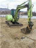 Hyundai Robex 55、2002、小型挖土機(掘鑿機,挖掘機)<7t(小型diggers)