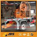 JBS Small Tractor Portable Mobile Jaw Crusher Plant、2016、骨材場
