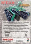 Sokoró SFT-3.0, 2009, Alte masini si accesorii de cultivat