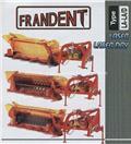 Frandent LAN 250/6 kasza, Žací stroje