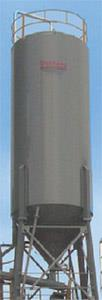 837BBL Round Material Storage Silo, Concrete Equipment