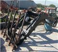 Carregador frontal para tractor agricola, Carregadoras frontais e escavadoras