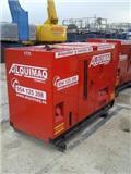Atlas Copco QAS 40KD, Generadores, Construcción