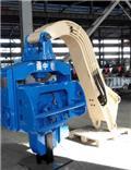 Вибропогружатель  振中 YZM45 excavator mounted vibro hammer, 2015