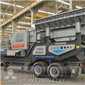 Liming YG1138EW86L mobile crusher plant, 2014, Knusere