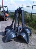 Peiner Dragline 5 tyne orange peel grapple, 1990, Peças e equipamento de gruas