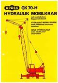 Gross GK 70 HV, 1979, Beltegående Kran