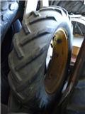 HJUL 1 ST 10.00X24, Däck, hjul och fälgar