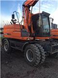 Doosan DX 140 W-3, 2011, Wheeled Excavators
