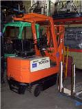 Toyota 2FBCA15, 2000, Electric forklift trucks