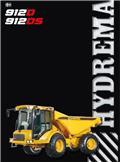 Hydrema 912 D, 2008, Midjestyrd dumper