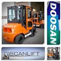 Doosan 3, 5 t diesel lager, 2016, Diesel trucker