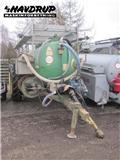 Gøma 5000 liter. Spulerpumpe med slangerulle., Gülletankwagen