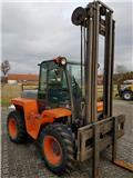 Ausa CH320 Allrad nur 1996 Stunden gelaufen!!!, 2000, Stivuitor diesel