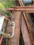 Væg svingkran med 1250 kg Stahl kæde el-kran og el, Søjlelifte