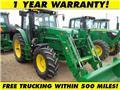 John Deere 6125 M, 2014, Tractores