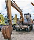 Case Poclain 80 P, 1989, Wheeled excavators