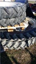 New Holland 60, Däck, hjul och fälgar