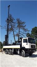 MAN 33.314 6x6 WATER WELL DRILL, 1999, Outros