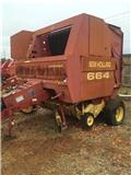 New Holland 664, 1996, Round balers