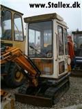 Hanix N 150-2, 1992, Mini rýpadla < 7t