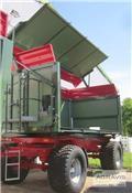 Welger DK 280 RA 18-60 B、2015、傾卸式拖車